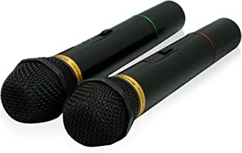 QFX M-336 Wireless Dynamic Professional Microphone – Twin Pack