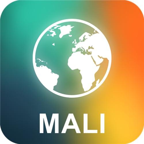 Mali Offline Mapa