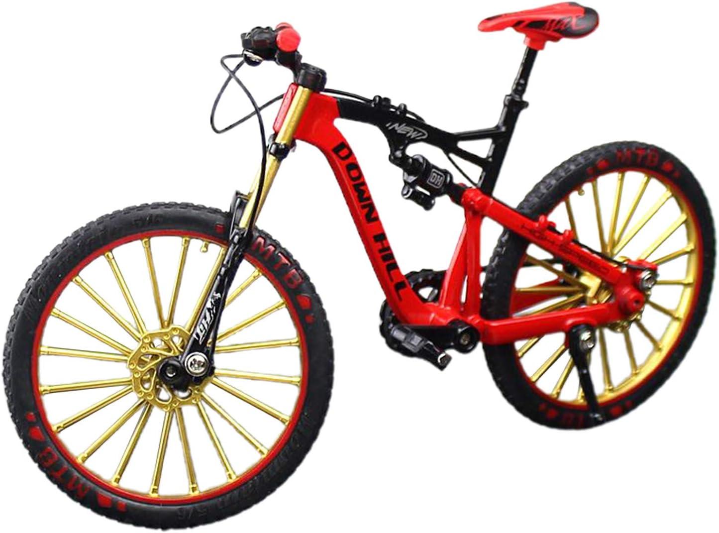#N Mesa Mall A Max 76% OFF Bike Model Die-Cast Toy 1:10 Scale Simulate Ridi