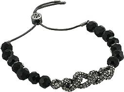 Pave Link Slider Bracelet