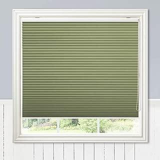 Keego Custom Window Blinds 100% Blackout Cellular Shades, Green, 24