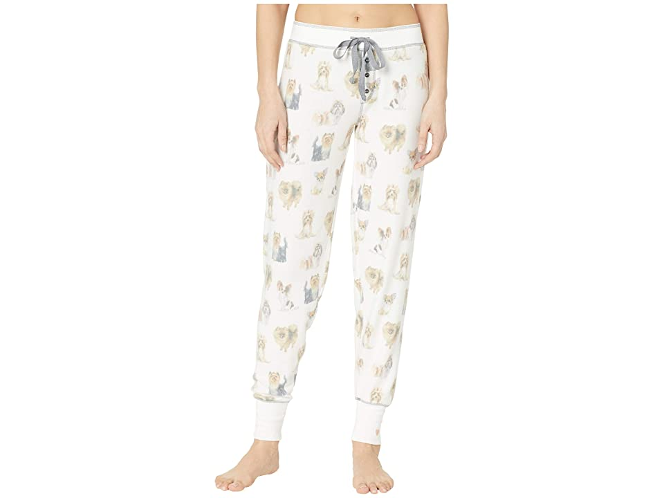 P.J. Salvage Pawsitively Spoiled Jogger (Ivory) Women