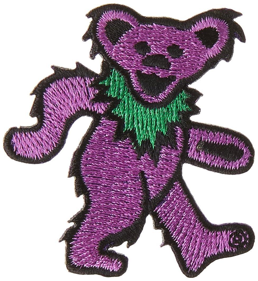 Application Grateful Dead Purple Bear, 1 Patch