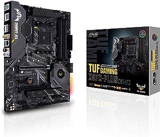 ASUS TUF Gaming X570-Plus (WI-FI) - Placa Base de Gaming ATX AMD AM4 X570 con PCIe 4.0, Dos M.2, 12+2 con Etapa de Potencia Dr. Mos, HDMI, DP, SATA 6 GB/s, USB 3.2 Gen. 2 e iluminación Aura Sync RGB