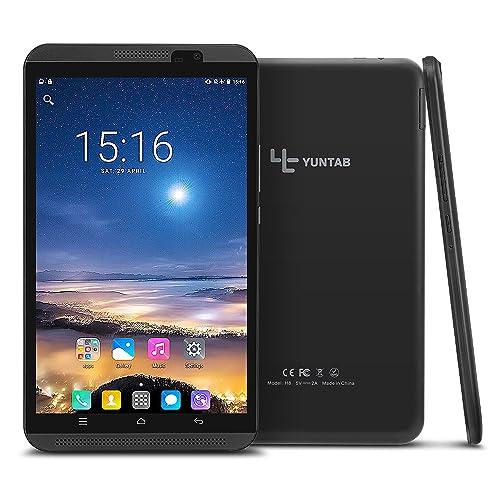 Yuntab H8 4G LTE Tablet - 8 pulgadas Tablet Phone (Quad-core, 64