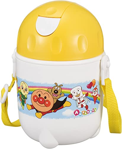 Anpanman AL with straw water bottle K-929 (japan import)