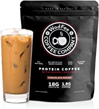 WodFee Protein Coffee   All Natural Whey Protein Coffee with 18G of Protein Per Serving   No Artificial Sweeteners, Non GM...
