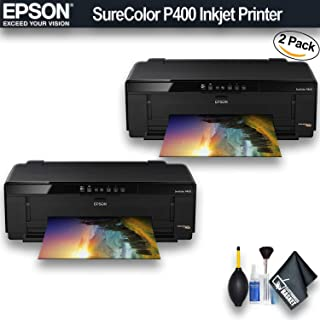 Epson SureColor P400 Inkjet Printer (C11CE85201) 2 - Pack Bundle