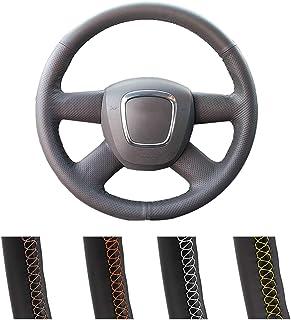 OPIZKLJ Etiqueta engomada del Extensor DSG de Las paletas de Cambio del Volante del Coche para Audi A3 S3 8V A4 B8 A5 S5 A6 S6 C7 A7 A8 S8 Q3 Q5 Q7 SQ5