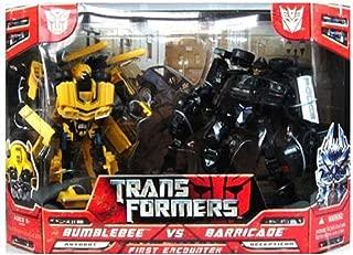 bumblebee vs barricade games