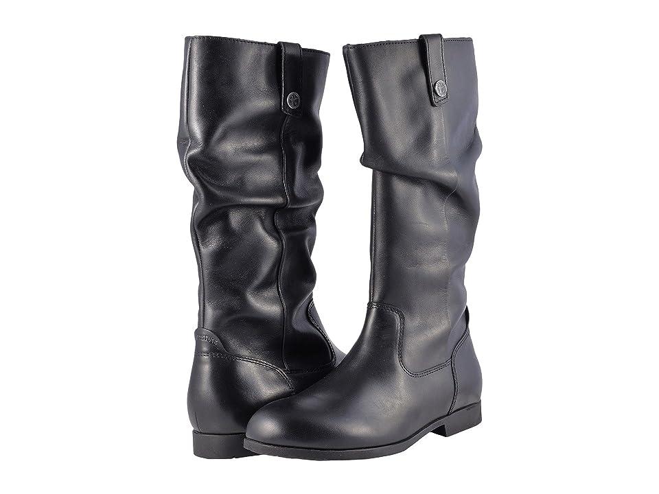 Birkenstock Sarnia High (Black Leather) Women