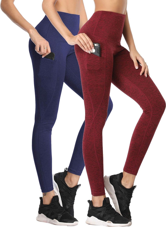 Neleus Womens Yoga Leggings Tummy Control Workout Yoga Pants