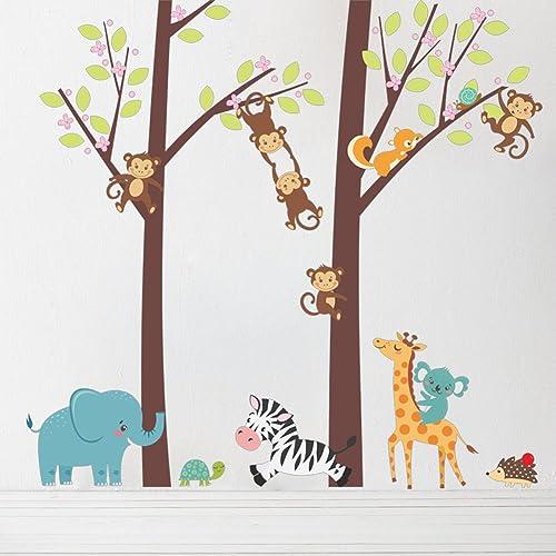 Stickers Per Ante Armadio.Elephant Decal Window Bumper Sticker Car Decor Safari Jungle