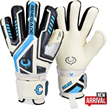 Renegade GK Talon Goalie Gloves (Sizes 5-11, 4 Styles, Level 2) Pro-Tek Fingersaves & 4mm Hyper Grip   Versatile Glove for All Ages & Levels   Superior Grip, Protection, and Comfort   Based in the USA