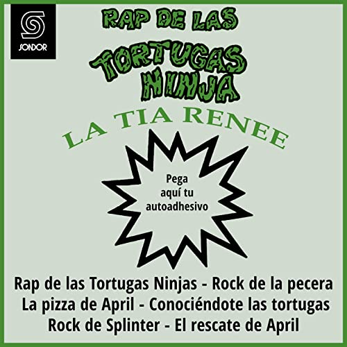 Rap de las Tortugas Ninjas (Rap Ninja 2) de La Tía Renée en ...