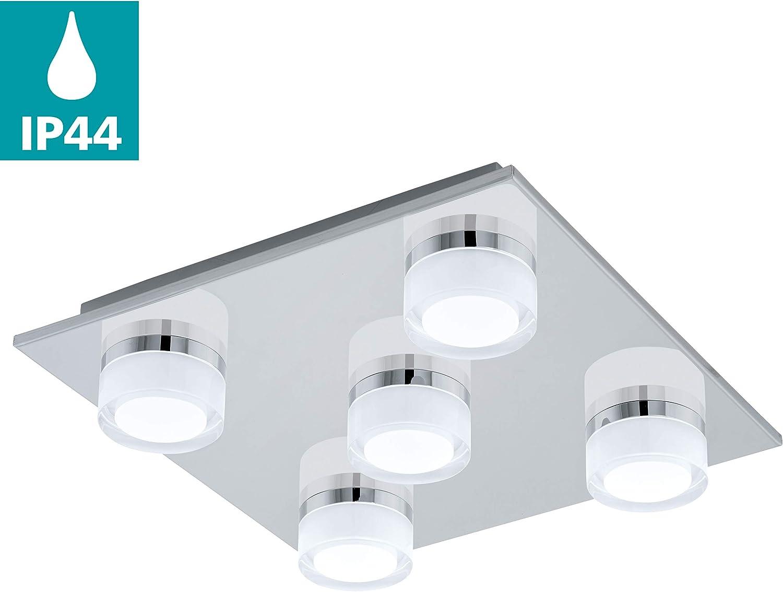EGLO LED Deckenlampe Romendo, 20 flammige Deckenleuchte Bad ...