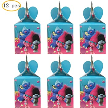 Decorations for Trolls Party Decorations Centerpieces Honeycomb Decoration for Kids Birthday Party Supplies