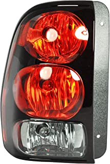 Dependable Direct Driver Side (LH) Tail Light Lamp for 2002-2009 Chevrolet Trailblazer GM2800150 - Includes Bulbs