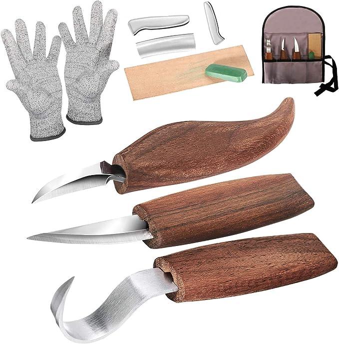 57 opinioni per strumenti per intaglio del legno Coltello da Intaglio in Legno con Intaglio