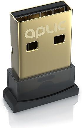 CSL - Bluetooth 4.0 USB Adapter | V4.0 verbesserte Energieeffizienz | Bluetooth Class 4.0 Technologie | Plug & Play Modell | Windows 10/8.1/8 / 7 / Vista/XP 32-Bit und 64-Bit