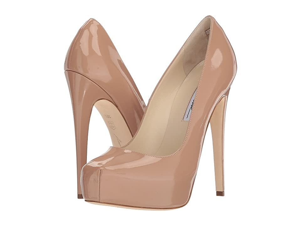 Brian Atwood Maniac (Cappuccino Nude Patent) Women