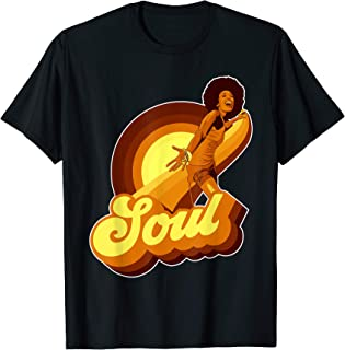 70s Funk Afro Soul Retro Vintage T-shirt v2