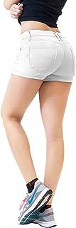 HyBrid & Company Womens Butt Lifting Super Comfy Stretch Twill Shorts