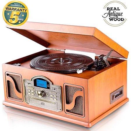 Lauson Nostalgie Holz Musikanlage Grammophon Elektronik