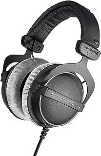 beyerdynamic DT 770 Pro Studio - Auriculares de Diadema (80 ohmios), Color Gris