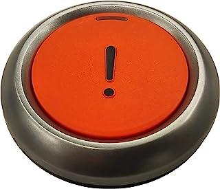 KEIYO 緊急発信ボタン お手持ちのスマホへワンプッシュ通知 コンパクト直径約39mm Bluetoothでスマホ連携 Helpッシュ! AN-S072A