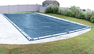 Pool Mate 351224RPM Heavy-Duty Blue Winter Pool Cover for In-Ground Swimming Pools, 12 x 24-ft. In-Ground Pool