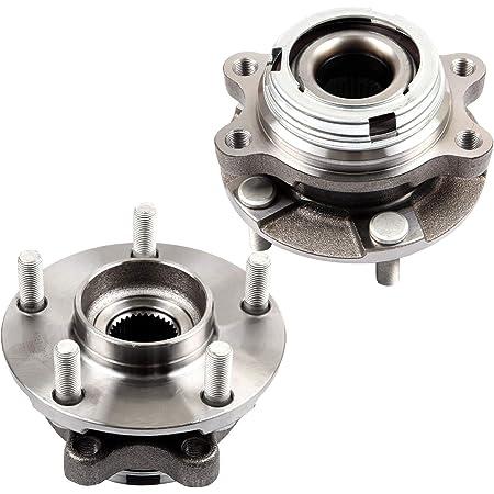 For 2014~2019 QX60 2015~2018 Murano 2013~2019 Pathfinder HU513296 x2 Front Wheel Bearing Hub Assembly Set of 2 Pcs 2009~2019 Maxima