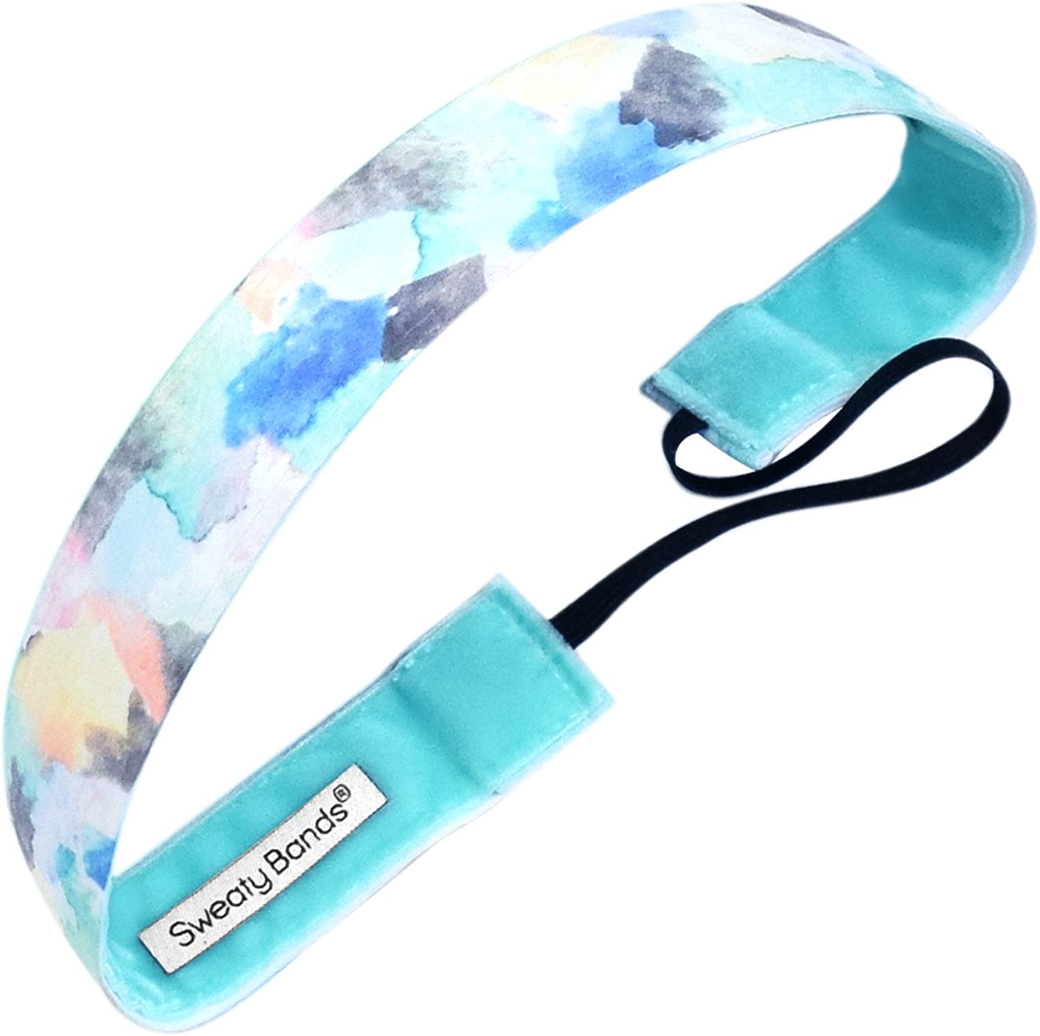Sweaty Bands Max 87% OFF Womens Girls Factory outlet Headband Perfo Non-Slip - Velvet-Lined