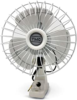 TMC 6 inch Oscillating Fan Fixed Mount, 12V FO-716-2