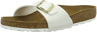 Birkenstock Australia Women's Madrid Sandals, White, 39 EU