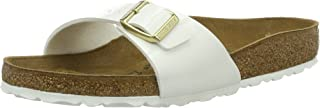 Birkenstock Women's Madrid Sandals, White, 39 EU