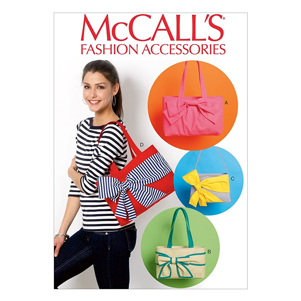 McCall Pattern Company M6977 Bags, One Size Only