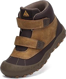 Mishansha Enfant Antidérapant Respirantes Chaussure de Marche Garçon Fille Léger Chaussures Randonnée, GR.24-38