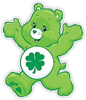 Good Luck Care Bear Iron On Transfer for T-Shirts & Other Light and Dark Color Fabrics #8 Divine Bovinity (Light Color Fabric Iron On Transfer)