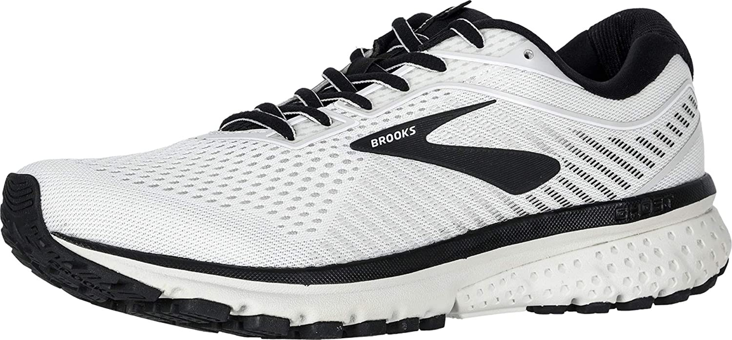 Details about  /Brooks Ghost 12 Men/'s White//Black