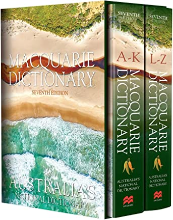 Macquarie Dictionary Seventh Edition