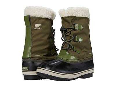 SOREL Kids Yoot Pactm Nylon (Little Kid/Big Kid) (Hiker Green) Kids Shoes