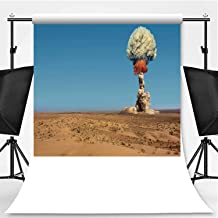 Explosion of Bomb Atomic Photography Backdrop,153905 for Video Photography,Flannelette:6x10ft