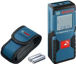 Bosch Professional Distanziometro Laser GLM 30 (Campo di Misurazione: 0,15 – 30 m, 2 Pile a Stilo da 1,5 V, Custodia Prote...