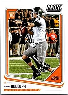 mason rudolph rookie card