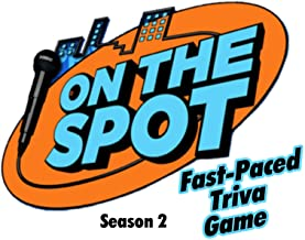 On The Spot Fast-Paced Trivia Game