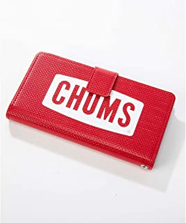 CHUMS チャムス CH62-1485 スマホケース DIARY CASE FOR IPHONE X-XS (Red(R001))