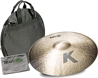 Zildjian K0731 21in K Zildjian Sweet Ride Cymbal Bundle w/Bag and Cloth