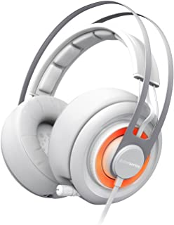 SteelSeries Siberia Elite Headset with Dolby 7.1 Surround Sound (White)