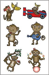 Premium Monkey Tattoos, Party Favors, Temporary Tattoo